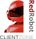 Red Robot Client Zone